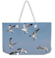 Seagulls See A Cracker Weekender Tote Bag