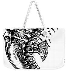 Seahorse Weekender Tote Bag
