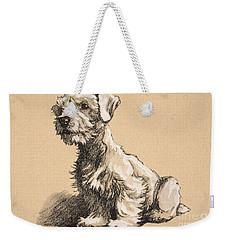 Sealyham Weekender Tote Bag
