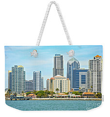 Seaport Village And Downtown San Diego Buildings Weekender Tote Bag