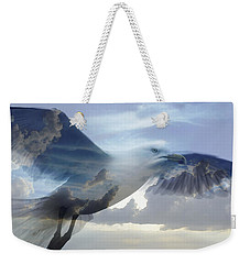 Searching The Sea - Seagull Art By Sharon Cummings Weekender Tote Bag by Sharon Cummings