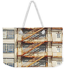Sears Crosstown Fire Escape Memphis Tn Weekender Tote Bag