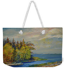 Seascape From Hamina 3 Weekender Tote Bag