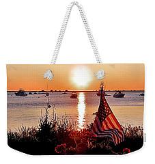 Seascape Sunrise Weekender Tote Bag