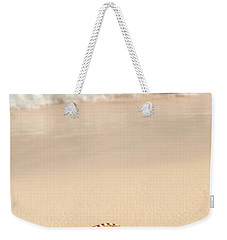 Seashell And Ocean Wave Weekender Tote Bag