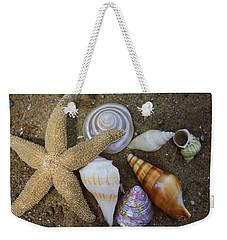 Seashells And Star Fish Weekender Tote Bag