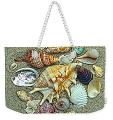 Seashells Collection Weekender Tote Bag by Sandi OReilly