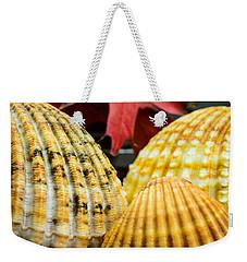 Seashells II Weekender Tote Bag by Marco Oliveira