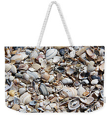 Seashells On The Beach Weekender Tote Bag