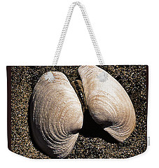 Seashells Weekender Tote Bag by Richard Farrington