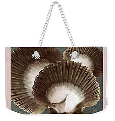 Weekender Tote Bag featuring the photograph Seashells Spectacular No 22 by Ben and Raisa Gertsberg