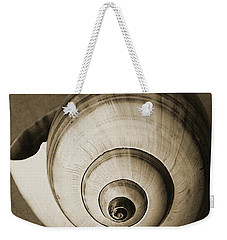 Weekender Tote Bag featuring the photograph Seashells Spectacular No 25 by Ben and Raisa Gertsberg