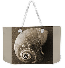 Weekender Tote Bag featuring the photograph Seashells Spectacular No 31 by Ben and Raisa Gertsberg
