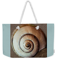 Weekender Tote Bag featuring the photograph Seashells Spectacular No 34 by Ben and Raisa Gertsberg