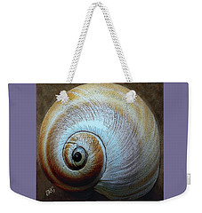Weekender Tote Bag featuring the photograph Seashells Spectacular No 36 by Ben and Raisa Gertsberg