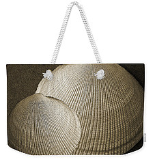 Weekender Tote Bag featuring the photograph Seashells Spectacular No 8 by Ben and Raisa Gertsberg