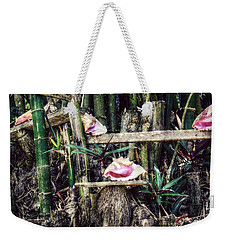 Seaside Display Weekender Tote Bag by Melanie Lankford Photography