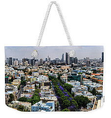 season change at Rothschild boulevard  Weekender Tote Bag
