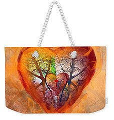 Season Of The Heart Weekender Tote Bag