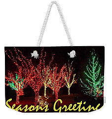 Seasons Greetings Weekender Tote Bag by Darren Robinson