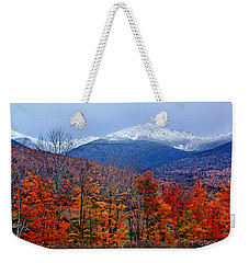 Seasons' Shift #2 - Mount Washington - White Mountains Weekender Tote Bag