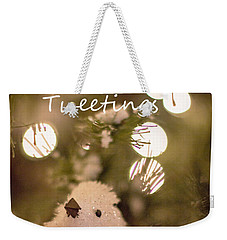 Seasons Tweetings Weekender Tote Bag