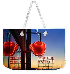 Seattle Coffee Weekender Tote Bag