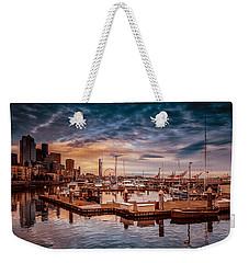 Seattle Marinescape. Weekender Tote Bag
