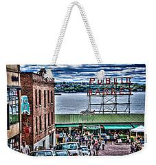 Seattle Public Market 2 Weekender Tote Bag