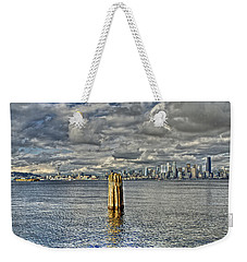 Seattle Skyline And Cityscape Weekender Tote Bag