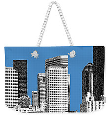 Seattle Skyline - Slate Weekender Tote Bag