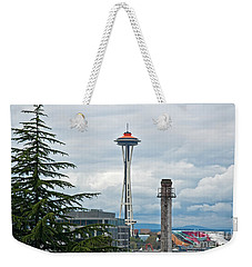 Seattle Spaceneedle Golden Anniversary Art Prints Weekender Tote Bag
