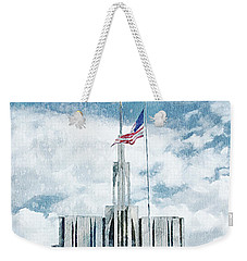 Seattle Temple 1 Weekender Tote Bag by Greg Collins