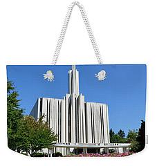 Seattle Temple Weekender Tote Bag