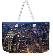 Seattle Urban Details Weekender Tote Bag by Mike Reid
