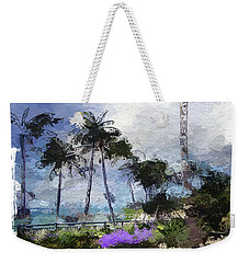 Seaview Terrace Weekender Tote Bag