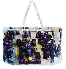 Sebastian Vettel Of Germany Weekender Tote Bag