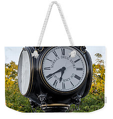 Secaucus Clock Marras Drugs Weekender Tote Bag