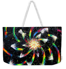 Second Day Of Creation Weekender Tote Bag