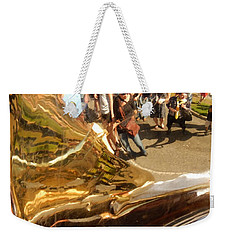 Second Line Tuba Weekender Tote Bag