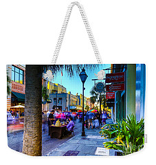 Second Sunday On King St. Charleston Sc Weekender Tote Bag