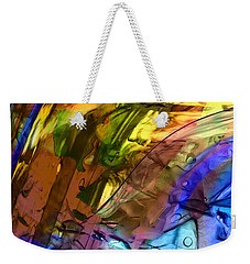 Weekender Tote Bag featuring the painting Secret Animal by Richard Thomas