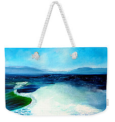 Secret Beach Surf Art Weekender Tote Bag