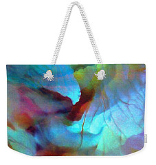 Secret Garden - Abstract Art Weekender Tote Bag by Jaison Cianelli