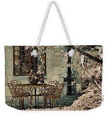 Weekender Tote Bag featuring the photograph Secret Garden by Lauren Radke