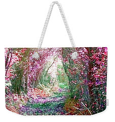 Weekender Tote Bag featuring the photograph Secret Garden by Vicki Spindler