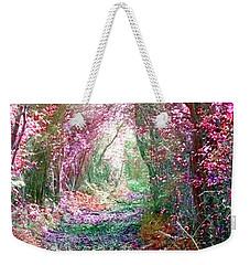 Secret Garden Weekender Tote Bag by Vicki Spindler