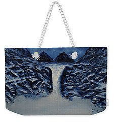 Weekender Tote Bag featuring the painting Secret Places by Shawn Marlow