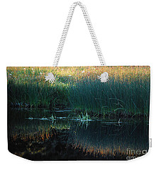 Sedges At Sunset Weekender Tote Bag