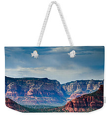Sedona Arizona Panorama Weekender Tote Bag
